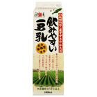【Daily+】成分無調整 秋田産大豆100%の濃い豆乳