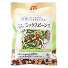 有機蒸しサラダ豆
