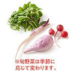 旬の根菜とリーフのセット (茨城県産 橋澤さん他)